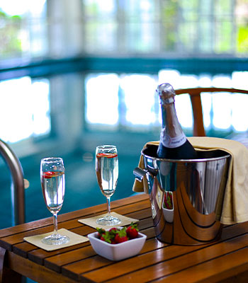 Champagne Celebrations with Fresh Fruits