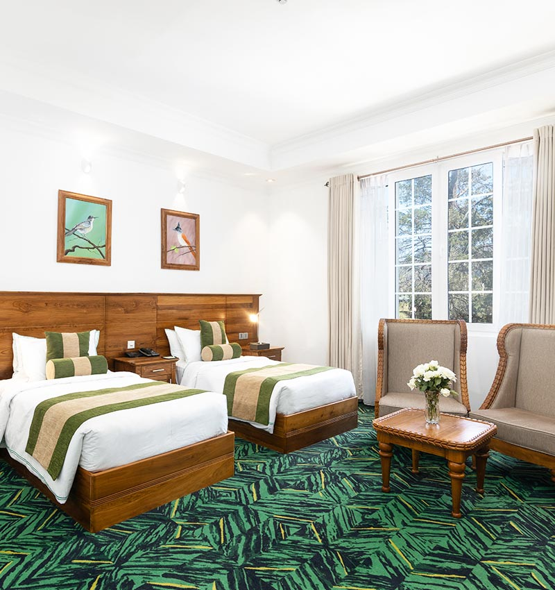 Single Beds of the Executive Suite of Araliya Green City