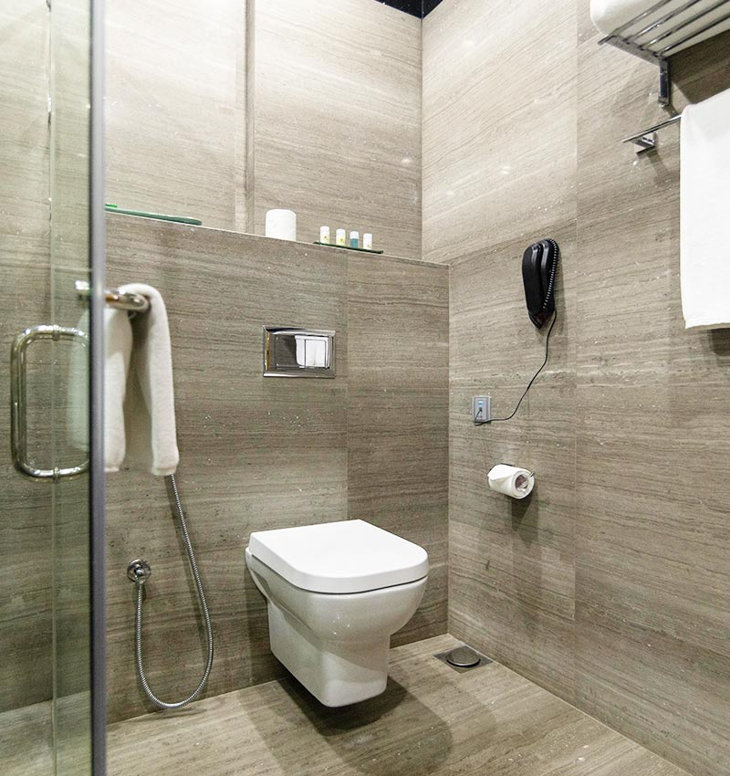 Shower Cubicle of the Executive Suite Bathroom