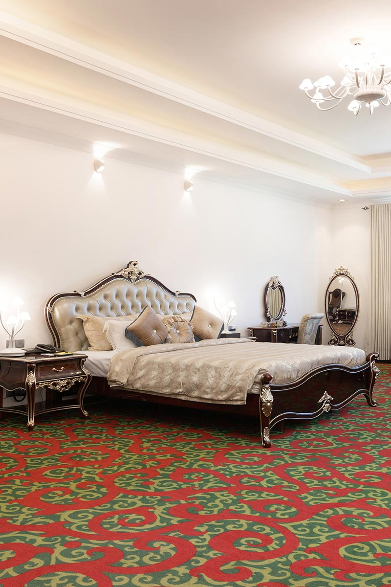 Luxury Cozy Bedding of the Royal Suite