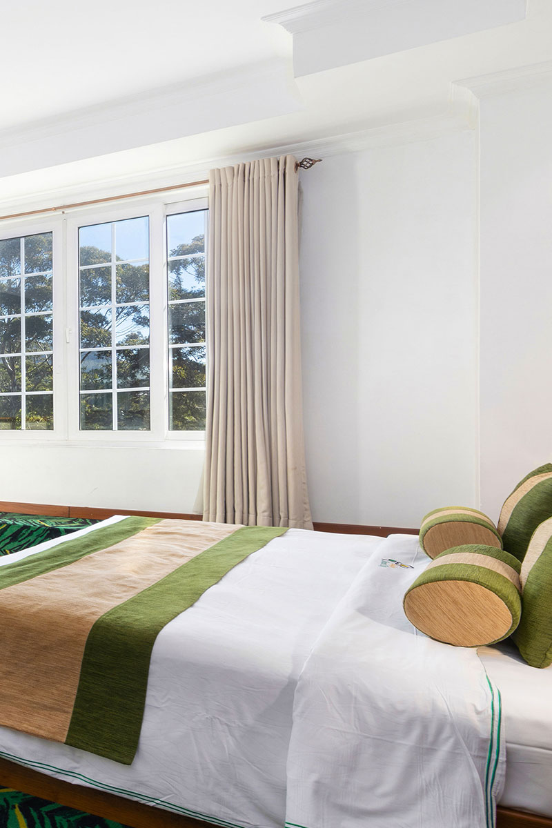 Bedding of the Superior Twin Rooms