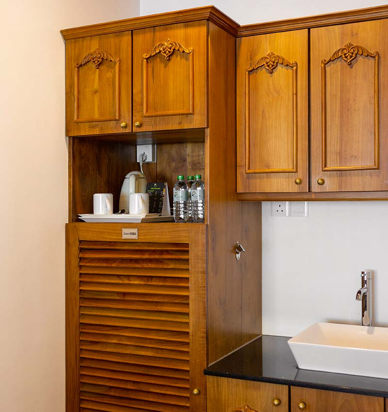 Fully Equipped Kitchenette of Royal Suite