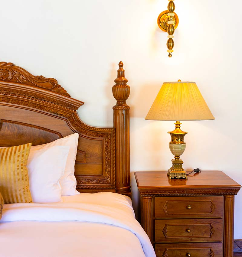 Comfy Bedding of the Royal Suite