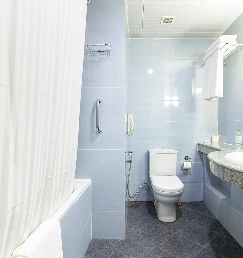 Accessible Washroom of Super Deluxe Rooms