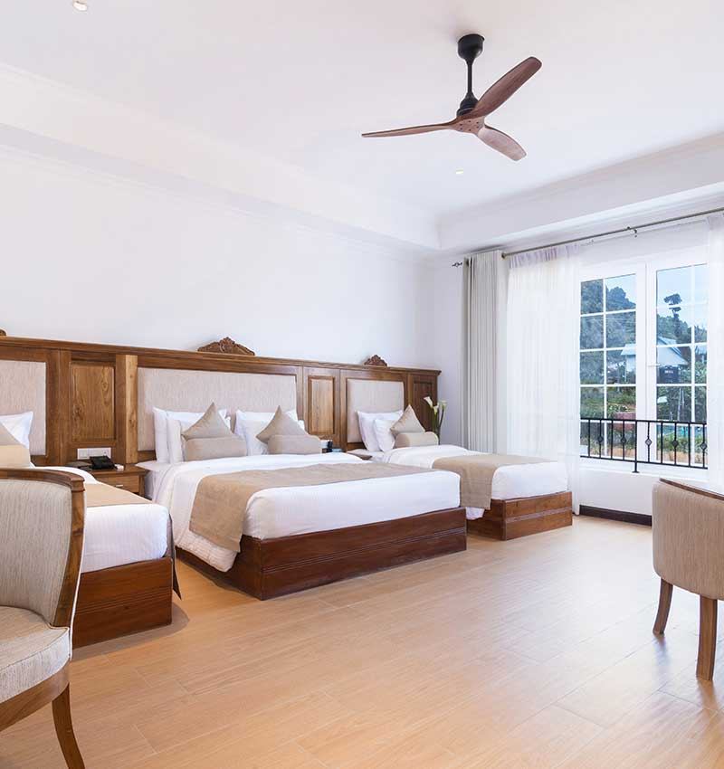 Family friendly & spacious Deluxe Room at Araliya Red