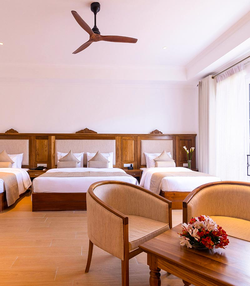 Family friendly Deluxe Room at Araliya Red